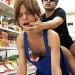 コンビニ店員が客に脅され性行為!店内でアナルファック!! Acceed  れいや