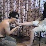 カワイイ女子大生の足舐め踏み 変幻餌罪 KF-4