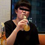 【Vol.1 さっちゃん編】 素人のゲロ(酔っ払い~嘔吐まで)【自然嘔吐】 Puke Japan PJ-001