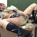 女子○生の教室マヨネーズオナニー フェチ映像屋 FJD-0655