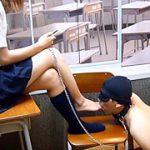 2人のドS女子○生によるM男いじめ 後編 足崇拝 AS-027