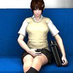 リビドーラボの3DCG女子学生パンチラ盗撮動画総集編-Vol.1 同人サークル「Libido Labo」