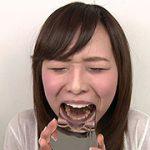エリナちゃんの歯観察 『左上5番:涙の崩壊歯』 フェチ映像屋 FJD-0900 小田エリナ