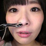 「HでMなみんなの妹」原美織ちゃんの鼻を観察しました。 フェチ映像屋 FJD-1037 原美織