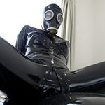Rubber Suit Lovers~gas mask anal rubber sex~ RUBBER LOVER RSL-008