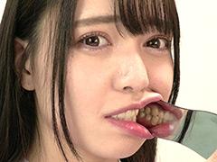 【歯フェチ】超オススメ女優 朝日しずくチャンのじっくり歯観察!