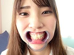 人気女優 竹内夏希チャンの歯・口内観察&指フェラプレイ!