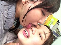顔面舐め合いレズ ~美人巨乳OLレズカップルの深夜の秘めごと編羽生ありさ 斉藤みゆ